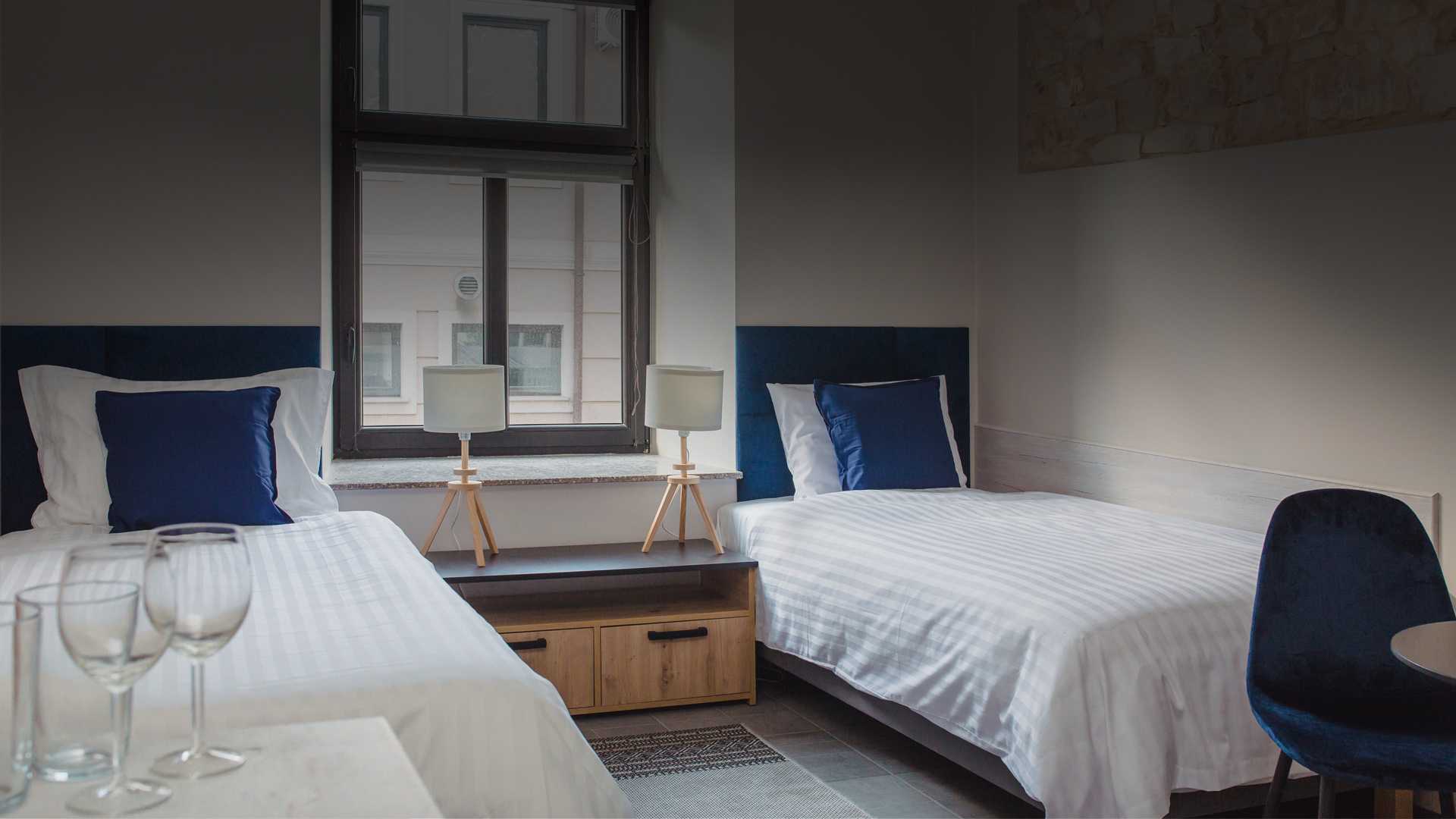 Nowoczesne pokoje i apartamenty o wysokim standardzie